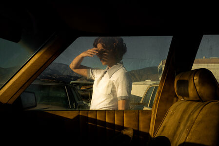 Tania Franco-Klein, 'Car, Window (Self-portrait), from Proceed To The Route', 2018