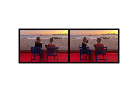 Eve Sonneman, 'Red Glow 2, Cannes, France', 2019