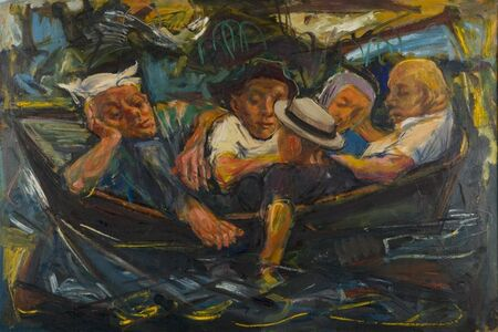Ture Bengtz, 'Men in Boat', ca. 1958