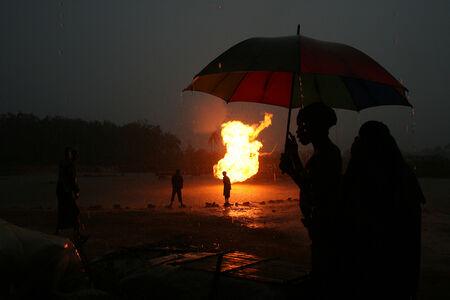 George Osodi, 'Gas Flare 1 ', 2006