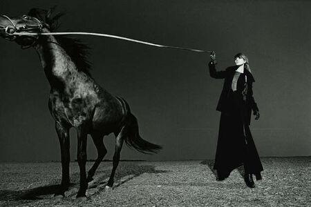 Patrick James Michel, 'Horse and Model', 2003