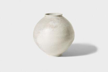 Kyu-tag lee, 'Yoben White Porcelain Moon Jar', 2014