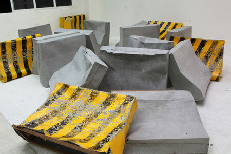 Liao Chao Hao, 'Jersey Barrier', 2016