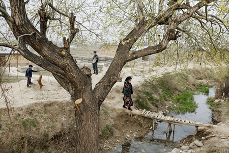 "Carolyn Drake, 'Kyrgyzstan. Fergana Valley. outskirts of Osh. From ""Two Rivers""', 2008"