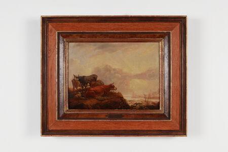 """Aelbert Cuyp, '""""Cows and Sheep""""', 1650-1670"""