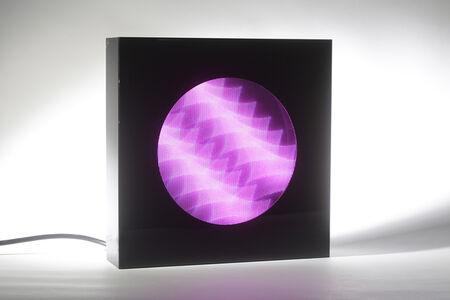Horacio Garcia-Rossi, 'Boite à lumières', 2012