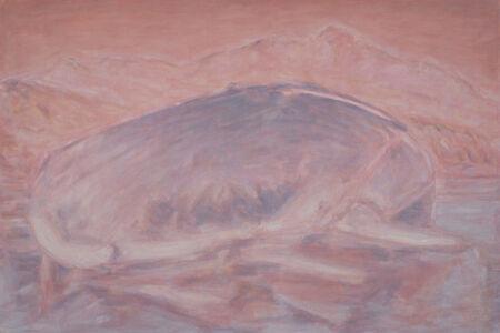 Bruno Pacheco, 'Shoreline with mountain', 2015