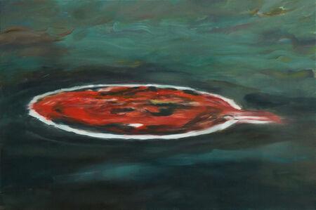 Mirel Vieru, 'Floating Red II', 2017