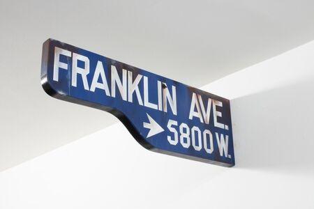 Jim Thompson, 'FRANKLIN AVE. -> 5800 W.', 2020