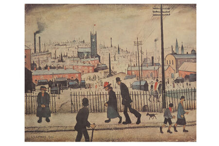 Laurence Stephen Lowry, 'View of a town'