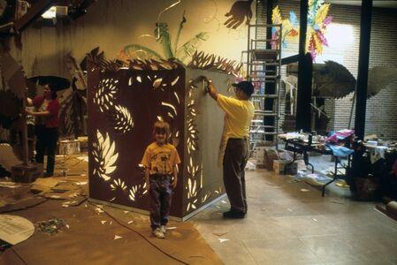 Antonio Martorell Doña, 'Provi's Garden (a cardboard fantasy)', 1998