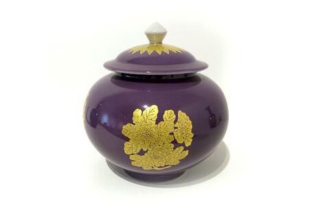 Yoshita Minori, 'Covered Jar with Circle Flower Design', 2016