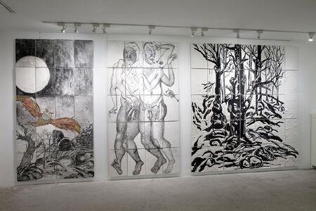 Daniel Heyman, 'Winter: Artist Engages (installation view)', 2012