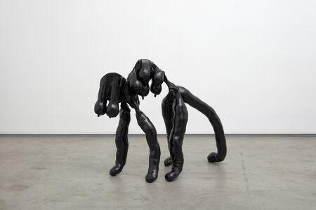 Sarah Lucas, 'Tit-Cat Down', 2015