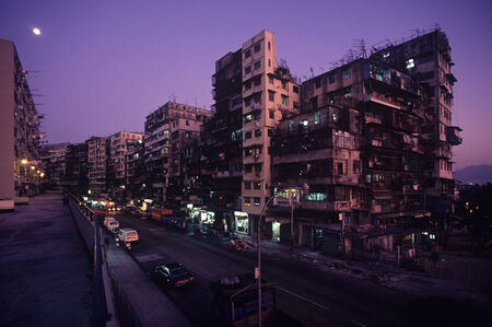 Greg Girard, ''Kowloon Walled City, North West Corner' Hong Kong', 1987