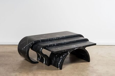 Victor Gingembre, 'Tables gigognes noires / Coffee tables '