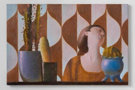 Benjamin Senior, 'Holly and Cacti', 2014