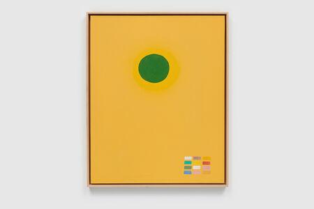 Adolph Gottlieb, 'Green Disc', 1969