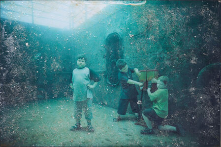 Andreas Franke, 'The Svenson Brothers (The Sinking World–Vandenberg Project)', 2011