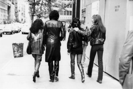 Bill Cunningham, 'Diana Ross, Gene Simmons, Cher and Les Dudek, New York City', 1979-1982
