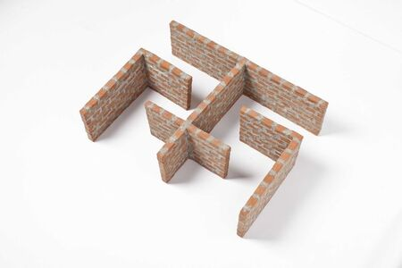 Ximena Garrido-Lecca, 'Arquitectura de Humo Maqueta IV', 2015