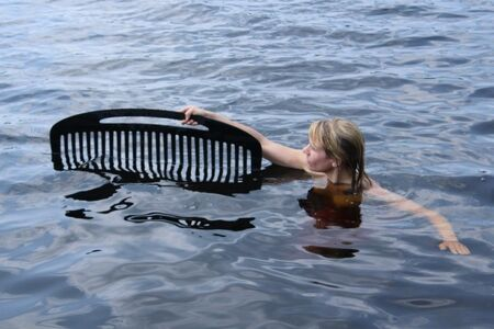 Lois Andison, 'Threading Water', 2014