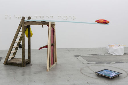 Ihra Lill Scharning, 'Lill Apocalypse's Boat Cabin Sleeping Arrangement / The Guru's Bible Shrine', 2014