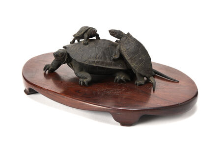 NON NAME, 'Bronze Turtle  20 0139', ca. 1860~