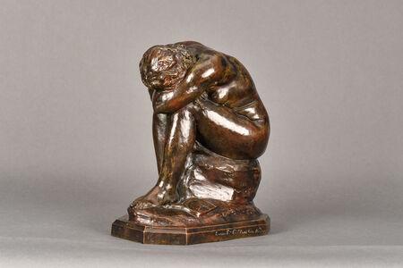 "Jules Dalou, 'La Verite Meconnue(""Truth Revealed"")', 1900"
