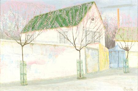 Armando Buratti, 'Spring in suburbs', 1959