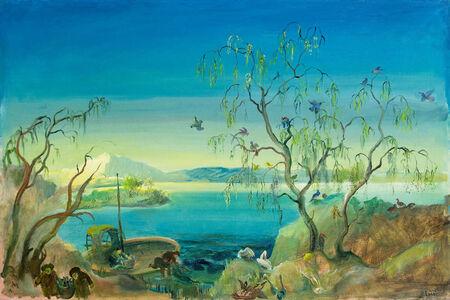 Oskar Laske, 'Bird's Island', 1938