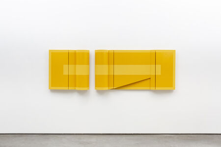 Robert William Moreland, 'Untitled Yellow Monochrome Diptych ', 2019