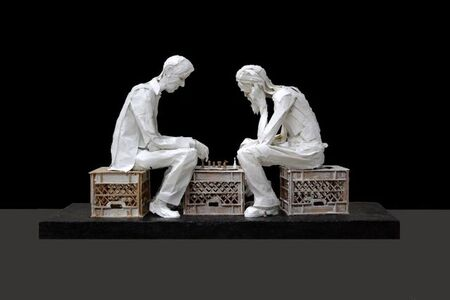 Ivan Markovic, 'The Chess Players', 2017