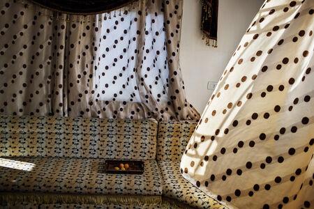 Tanya Habjouqa, 'Curtains', 2016