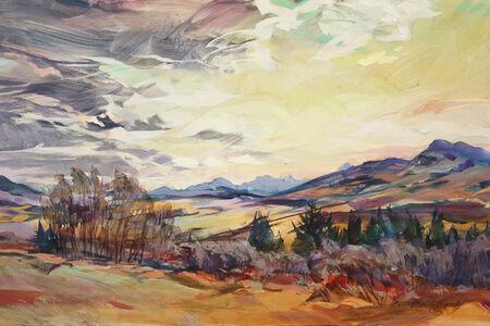 Brent Laycock, 'Luminous Foothills', 2020