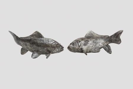 Charles Artus, 'Pair of Fishes / Paire de poissons', ca. 1940