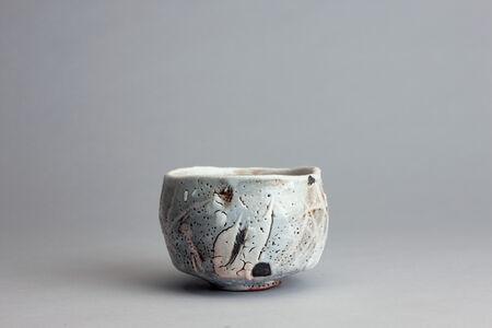Randy Johnston, 'Tea bowl with coarse shino glaze over iron', n/a