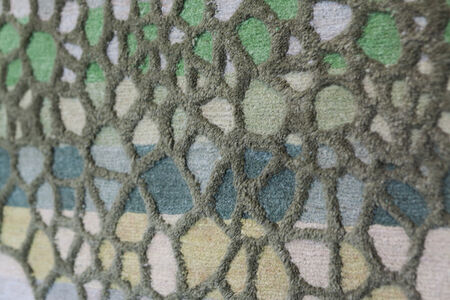 Studio mischer'traxler, 'Day by Day - Green Rug for Nodus', 20014-2015