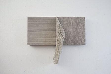 Ko Kirk Yamahira, 'Untitled RL035 (small double square, black and white) ', 2020
