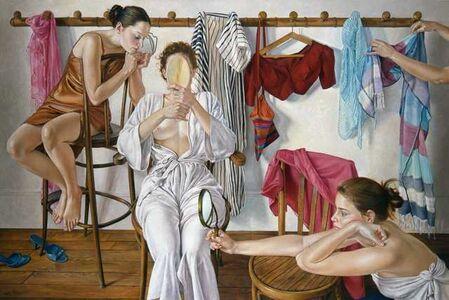 Francine Van Hove, 'Les Trois miroirs', 2004