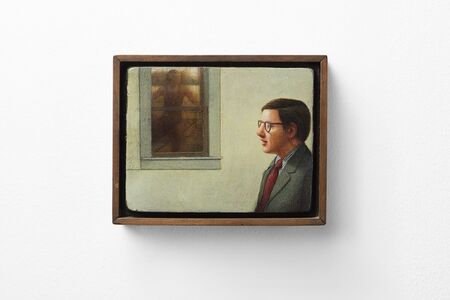 Gregory Gillespie, 'The Amhearst Graduate', 1974