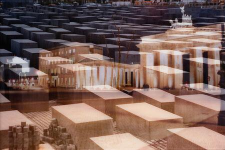 Davide Bramante, 'My Own Rave - Berlino (Porta di Brandeburgo + Monumento alle vittime dell'Olocausto)', 2005