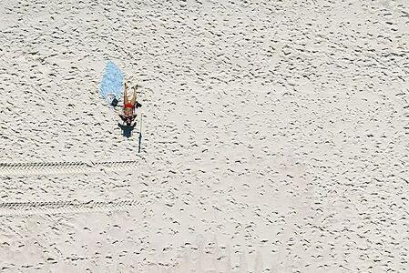 Custodio Coimbra, 'Estar na praia. Recreio dos Bandeirantes'