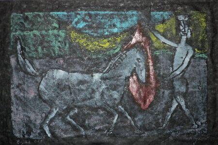 Anne Ryan (1889-1954), 'BOY AND COLT', 1945