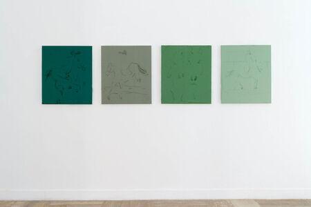Riccardo Baruzzi, 'Sette chili di quattro verdi', 2016