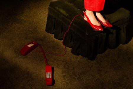 Tania Franco-Klein, 'Phone Line (Self-portrait)', 2019