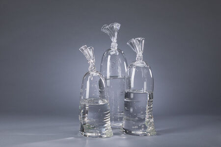 Dylan Martinez, 'Water Bags Series, H2O/SiO2', 2019