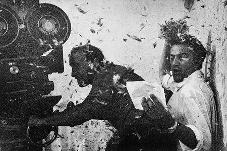 Tazio Secchiaroli, 'Federico Fellini, Otto 1/2'', 1963