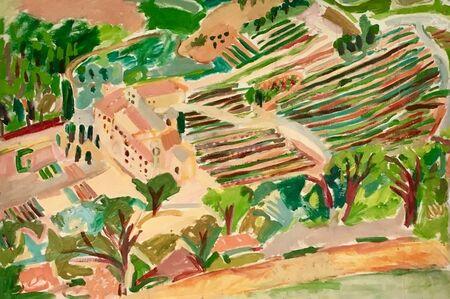 Elizabeth Cope, 'Senanque, Provence ', 1992