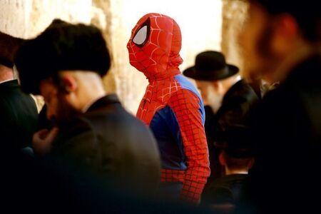 David Kassman, 'Wailing Wall/Spiderman', 2010